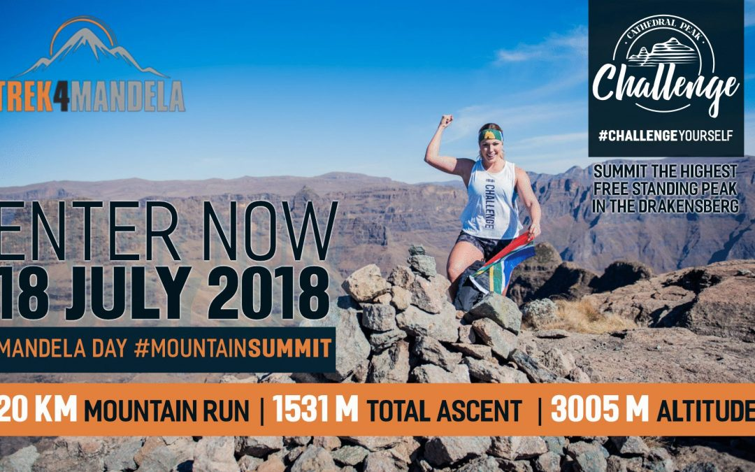 Nelson Mandela Day 2018 – Cathedral Peak Challenge