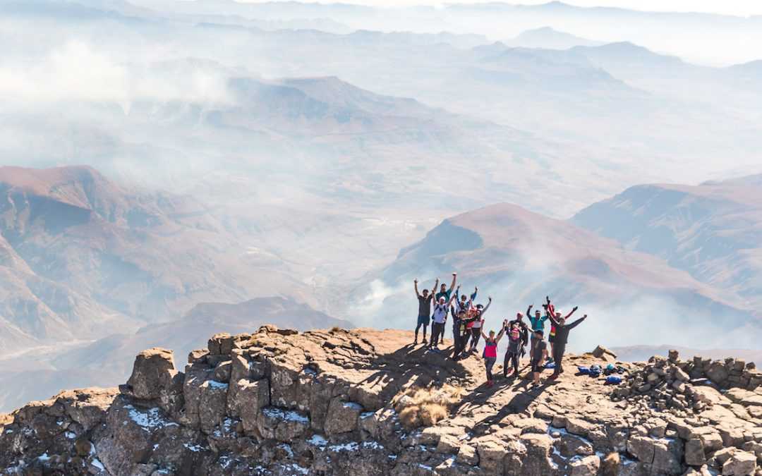 Mandela Day Challenge at Cathedral Peak